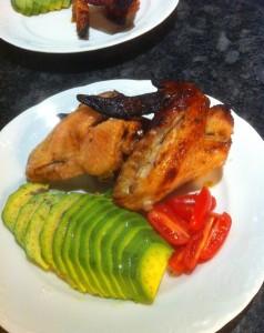 Kycklingvingar BBQ